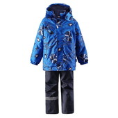 Зимний комплект для мальчика Lassie by Reima 723695 - 6511. Размер 104 - 140. Бесплатная доставка