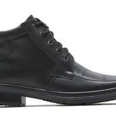 Зимние Ботинки Кожаные (043)