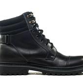 Ботинки Зимние Кожаные (044ч)