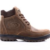 Ботинки Зимние Кожаные (046к)