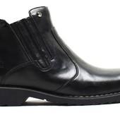 Зимние Ботинки Кожа (070)