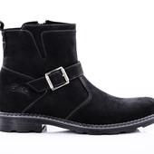 Ботинки Зимние Кожаные (073н)