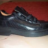 Кожаные фирменные туфли Hazard 40 р кожа везде