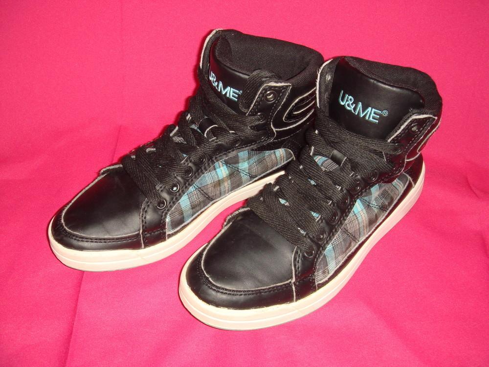 61eaea8ca Кроссовки высокие р.36 u&me (германия) демисезон, девочке, женские, ботинки