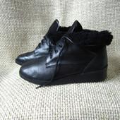 ara р.38 зимові ботинки утеплені шкіряні