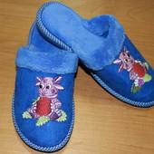 Детские домашние тапочки Белста с закрытым носочком р-р 31-33