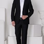 Мужской костюм черный