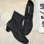 (37,5р.) Gabor! Кожа! Удобные сапоги, ботинки в классическом стиле