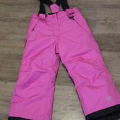 Отличный лыжный полукомбинезон для девочки фирмы  Lupilu  Германия