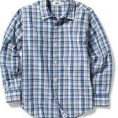 Яркая хлопковая рубашка Old Navy 7-8лет. Америка