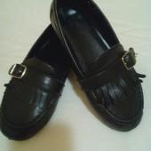 Кожанные туфли -17,5 см стелька