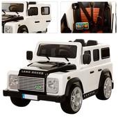 Джип Land Rover (электромобиль М 3190-1 eblr),раиоуправление,амортизаторы,откидывается багажник