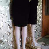 Теплая юбка Printemps из драпа-80 шерсть ламы Р 44-48 Пот-35 см Франция.
