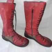 Женские деми-сапоги на шнуровке Bubetti р.39,5 дл.ст 26см