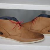 Крутые мужские туфли, ботинки Base London.Раз 44