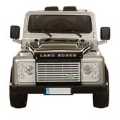 Акция Джип Land Rover M 3190eblrs-11 (электромобиль 3190),кожаное сиденье и автопокраска