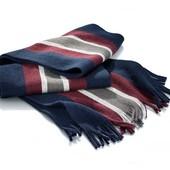Теплый шерстяной шарф от ТСМ (германия), размер 165 см на 26 см