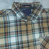 Мужская рубашка . ТСМ-Такко(германия), размер 50-52 ворот 41-42 Хлопок 100%