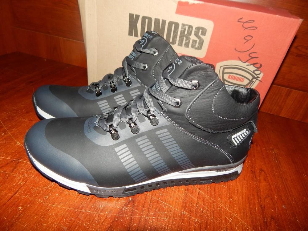 c8a8de4c5 Мужские кожаные зимние ботинки konors черные, цена 1000 грн - купить ...