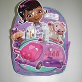 Дошкольный рюкзак Disney Доктор Плюшева детский для малышей новый