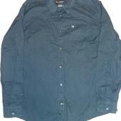 Мужская рубашка . ТСМ-Такко(германия), размер 54-56 ворот 45-46. Хлопок 100%
