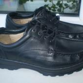 мужские туфли Clarks р. 9 Н ( Вьетнам,кожа),стелька 27.5
