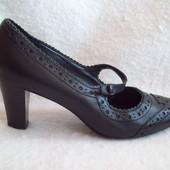 Туфли оксфорды кожа, размер 38