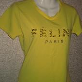 Женская футболка. Хорошее качество. размер 44-46.