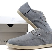 Мокасины Lacoste Grey Cotton, р. 42-45, код fr-1250