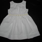 платье YD 9-12 мес 100% коттон состояние нового