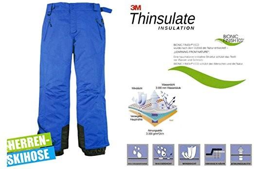 Лыжные зимние термо штаны мембрана Crivit р. 52 фото №1