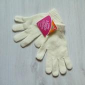 Новые рукавички для девочки. Warm&Cosy. Размер от 10-ти лет