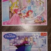Пазлы Trefl Принцессы Дисней и Эльза с Анной.