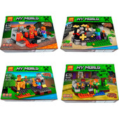 Конструктор Lele серии Minecraft 79255, 4 вида