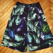 Шифонoвая юбка шорты от oasis! p.-36