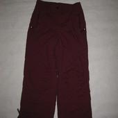 152 рост, лыжные термо штаны брюки Trail, бордовые