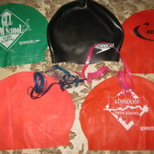 Шапочки для плавания и очки