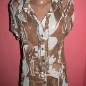 легкая блуза р-р 40 сост новой