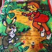 Одеяло детское , плед в санки или в коляску.