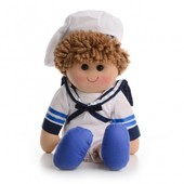 IF82 М'яка іграшка лялька моряк 40 см
