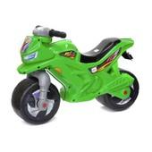 Мотоцикл-беговел 2-х колесний зеленый Орион 501