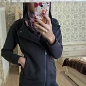 Кофта куртка косуха с капюшоном s-xs