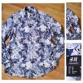 Фирменная рубашка H&M, размер XS
