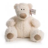 IF92 М'яка іграшка білий ведмедик 40 см