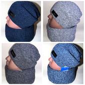 Шикарный комплект шапка снуд