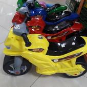 Мотоцикл-толокар.