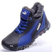 Кроссовки кожаные зимние Puma  Track