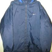 Деми куртка Nike, оригинал! 56/60р. смотрите замеры.
