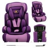 Автокресло YB 704 А цвет фиолетовый
