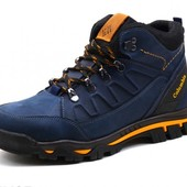 Ботинки Зимние Columbia Leather Aero Blue
